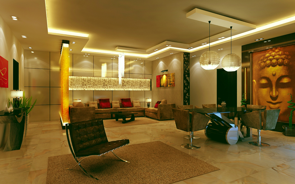 Interior Designing a Way to Bring Positivity in Home and Office