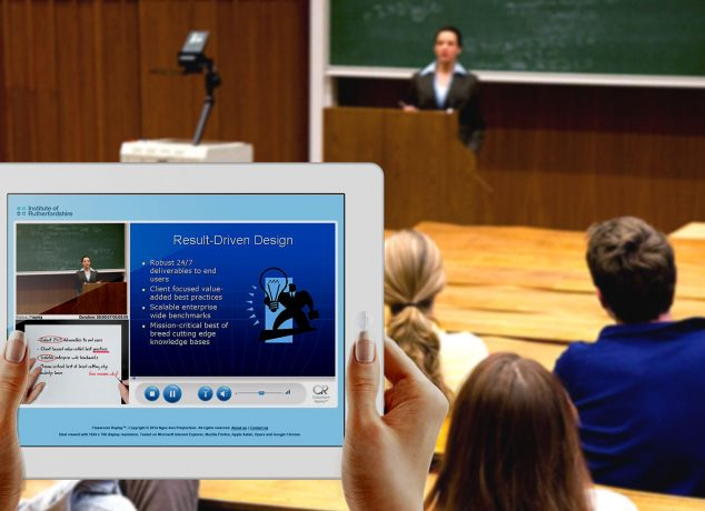 Revise missed lectures through video recording