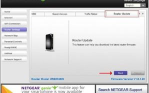 Tips for Updating Firmware Using Netgear Genie