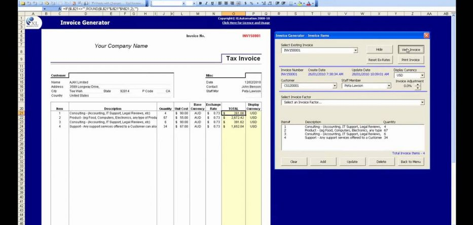 online and tax invoice software