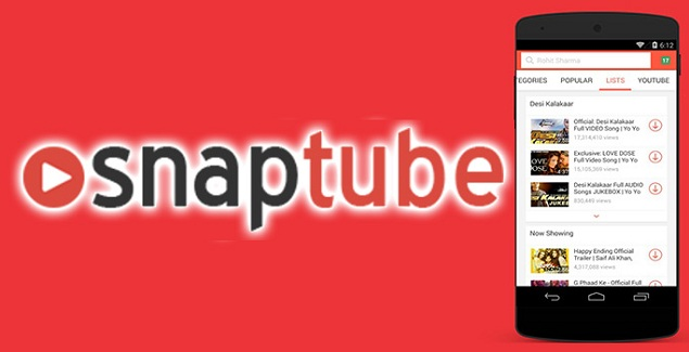 Install Snaptube Apk And Save Your Favourite YouTube Video On SD Card