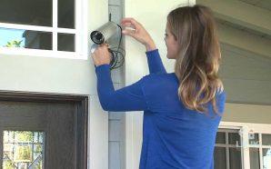 installing CCTV-Camera