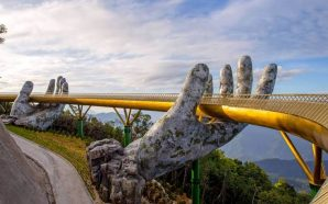 Golden Bridge Magnificent sights in Vietnam